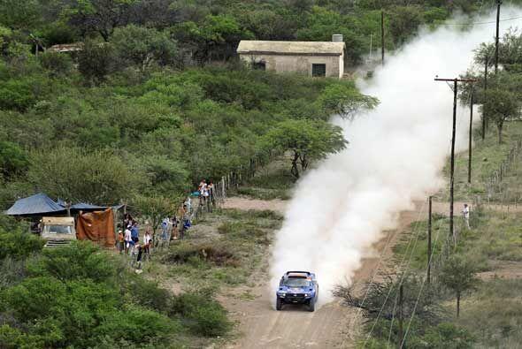 La ruta de la segunda etapa entre Córdoba y San Miguel de Tucumán pasó e...