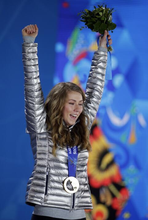 Mikaela Shiffrin (Sochi 2014 - Esquí alpino - slalon) Estados Uni...