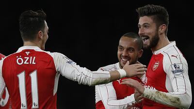 Arsenal superó a Manchestaer City