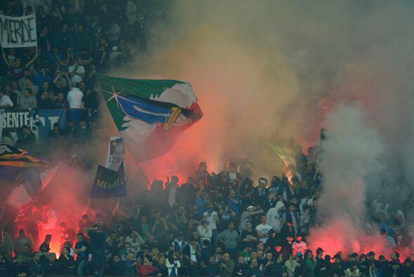 Inter gozaba la victoria, al igual que sus aficionados.
