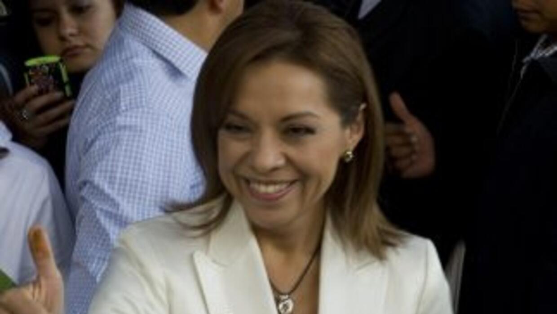 La aspirante a la Presidencia de México por el Partido Acción Nacional,...