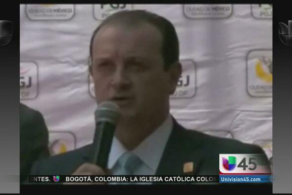 Un funcionario mexicano a cargo de la división de personas desaparecidas...