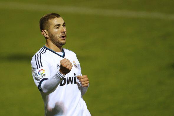 Y Karim Benzema fue el envargado de abrir la cuenta.