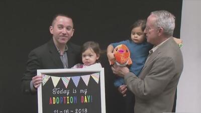 Más de 60 niños del condado Harris fueron adoptados por familias dispuestas a darles amor