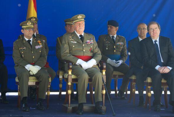 Juan Carlos atendió el 250 aniversario de la apertura del Real Colegio d...
