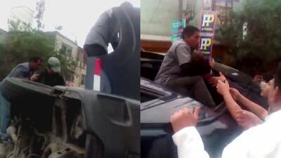 En video: El impresionante rescate de un bebé de entre los escombros de un autobús accidentado