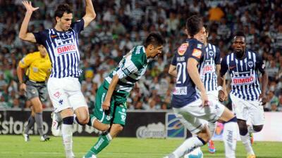 Antecedentes de duelos entre Santos y Rayados de Monterrey en liguillas
