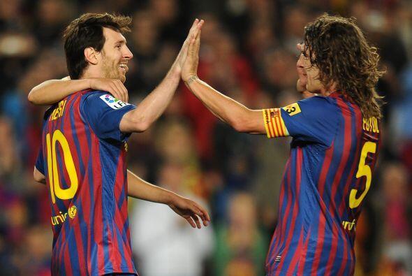 Pasaron algunos minutos, llegó otro penal y Messi lo transform&oa...