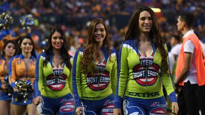 La belleza de las porristas se tomó los estadios de la Liga MX en la jornada 8