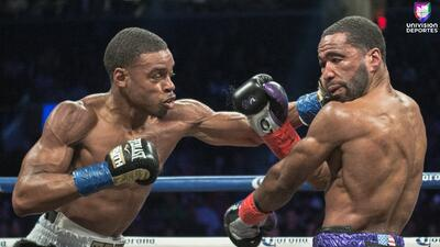 Errol Spence Jr vs. Lamont Peterson