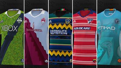 Te encantarán estas camisetas de los 20 equipos de la MLS inspiradas en el Mes de la Herencia Hispana