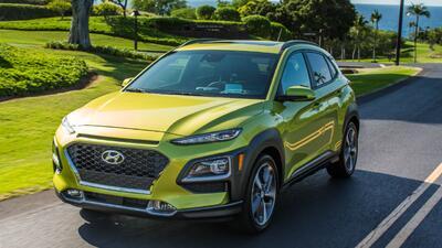 Hyundai llegó a Los Ángeles a bordo de Kona 2018, la más pequeña de sus camionetas
