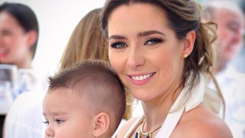 Así se veía Ariadne Díaz de bebé y era igual...