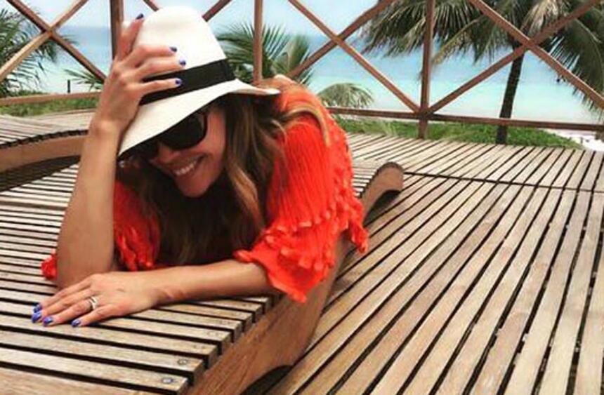 Karla Martínez vacaciones 2015 3