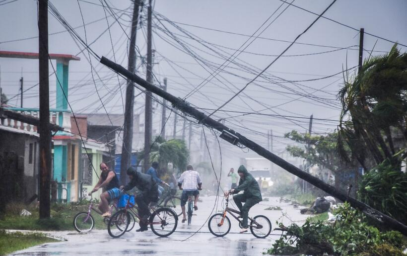 Hurricane Irma hits Cuba hard causing major flooding GettyImages-8449800...