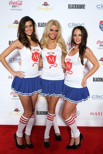 Las demás chicas Maxim no se quedaron atrás en belleza.