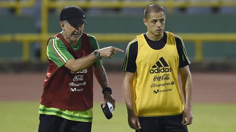 Osorio y Chicharito