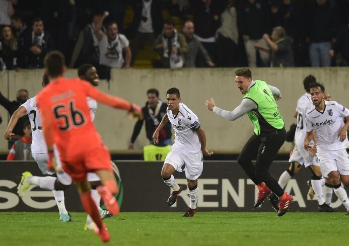 Vitoria 1-0 Marsella: un solitario gol del peruano Paolo Hurtado le dio...