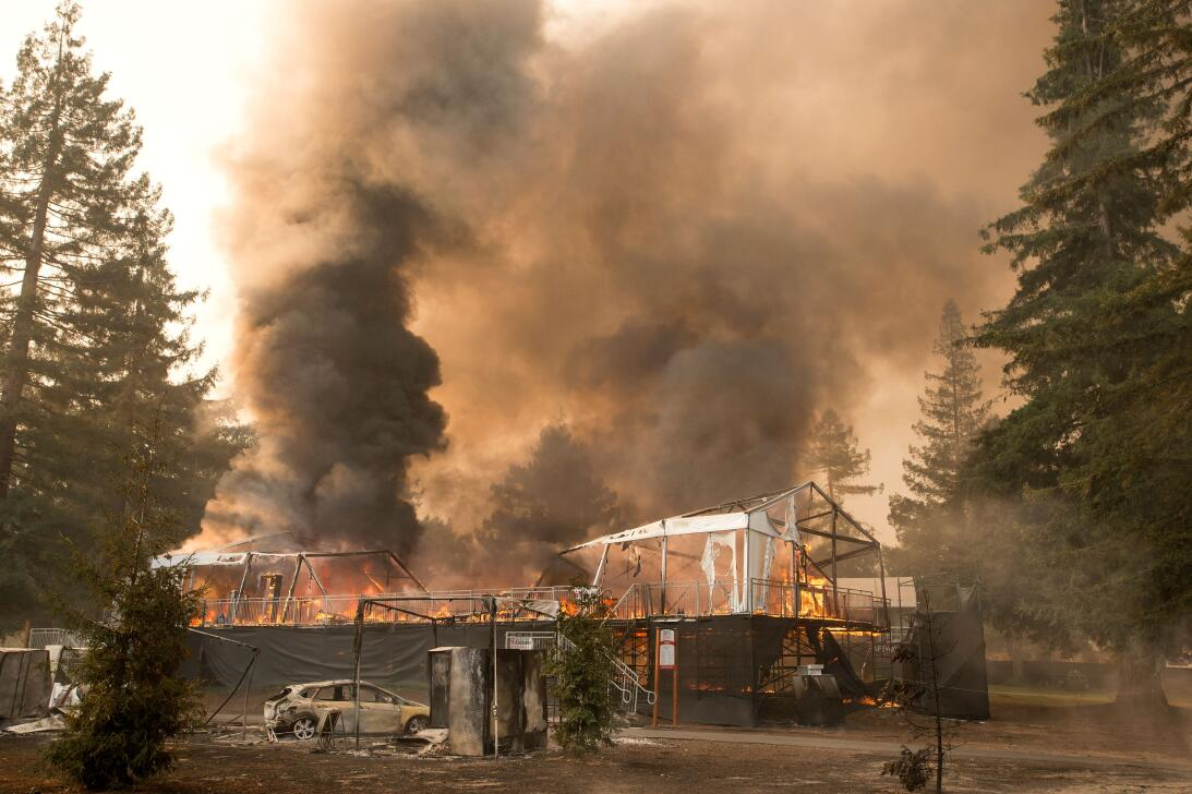 Images of the devastation from California wildfires gettyimages-85940860...