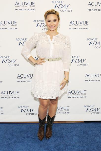 Algunas famosas como Demi Lovato se han apuntado a esta tendencia, y la...