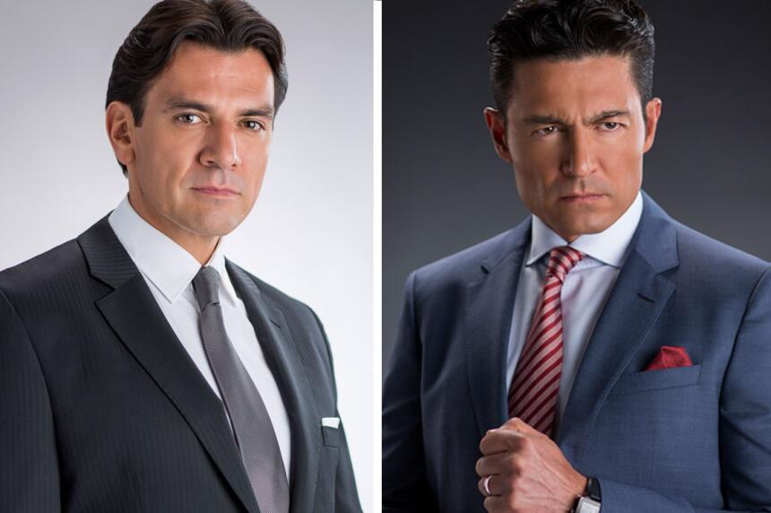 Jorge Salinas y Fernando Colunga