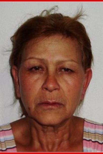 Amparo Barrón Solís, alias 'La Güera' de 46 años, es la otra mujer deten...