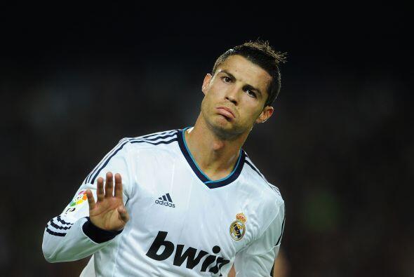 Pero su 'némesis' Cristiano Ronaldo no podía faltar.