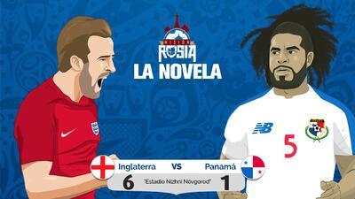 La Novela: Inglaterra gustó, goleó, calificó a octavos y eliminó a una histórica Panamá