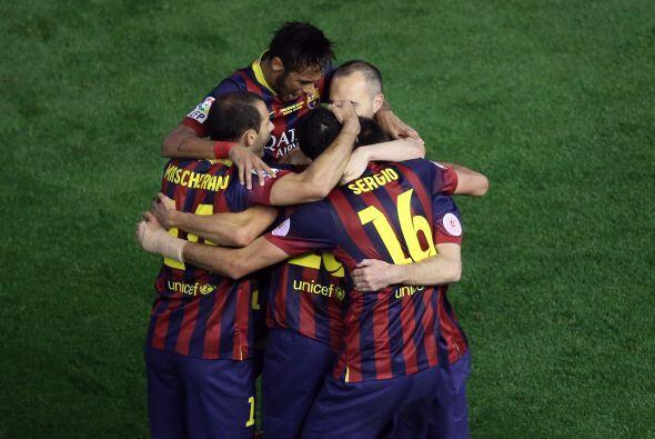 Sin haber hecho gran cosa, el Barcelona empataba el partido.