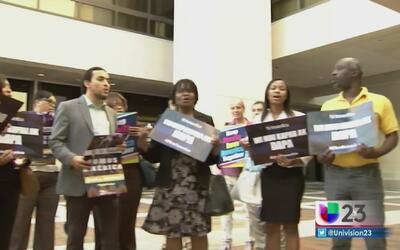 Inmigrantes de Miami apoyaron manifestación a favor de DACA y DAPA