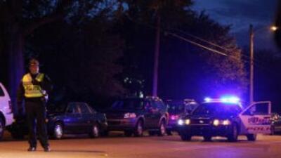 Policías enCarolina del Sur. (Imagen de Archivo).