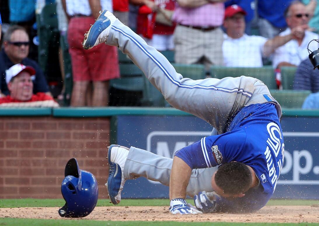 Postales de postemporada del béisbol de Grandes Ligas GettyImages-612996...