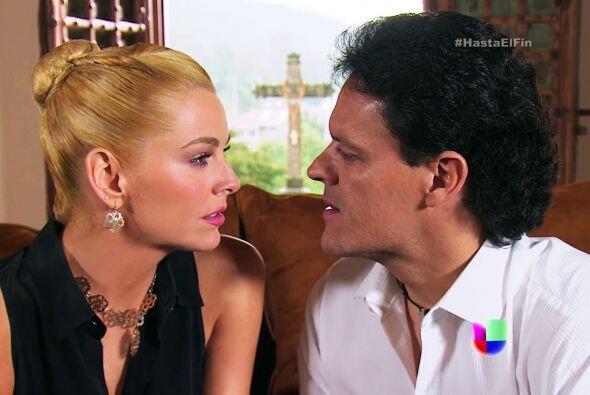 Los que derrochan amor son Sofía y Chava.