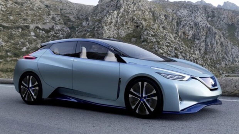 Una representación de cómo se podría ver el Nissan Leaf de 2020.