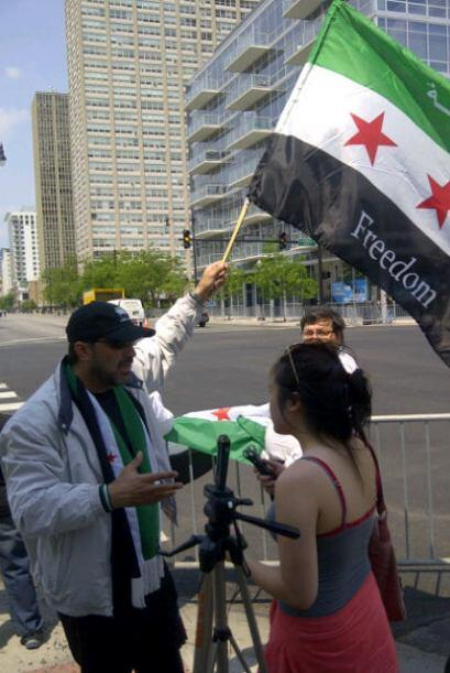 Protestas en Chicago contra la cumbre de la OTAN