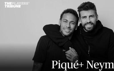 Piqué y Neymar