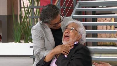 Mira cómo reaccionó Raúl Araiza ante la posibilidad de que Rafael Inclán sea su padre