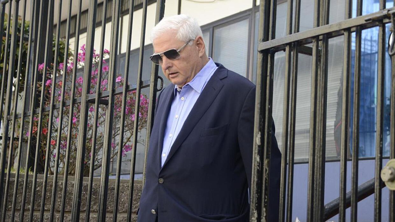 El expresidente panameño, Ricardo Martinelli, está detenid...