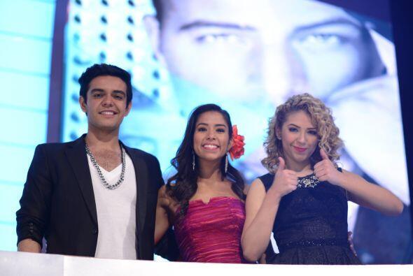 Espiridión con Virginia Stille y Paloma Carrasco, también del equipo de...