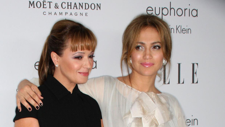 Leah Remini y Jennifer Lopez