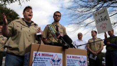 El pasado lunes 4 de febrero activistas llevaron al edificio de BSA, caj...