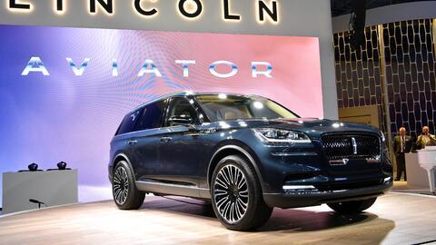 La nueva Lincoln Aviator debutó en el Auto Show de Nueva York 2018.