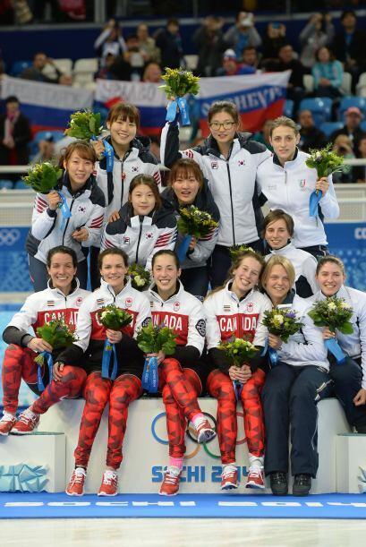 Corea del Sur, se alzó con el oro por delante de Canadá, plata, e Italia...