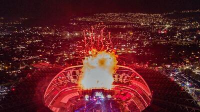 Destruída, así quedó la cancha de Estadio Azteca después de los conciertos de Shakira