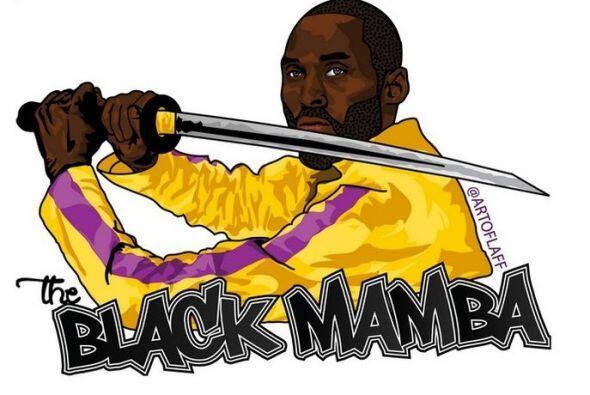 Kobe Bryant es 'The Black Manmba'.