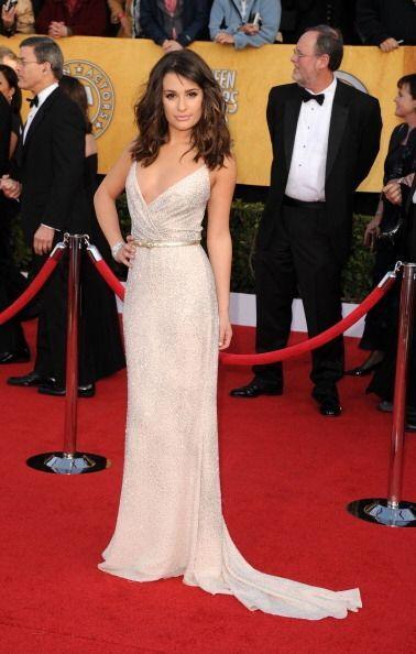 El vestido de Lea Michele se encuentra entre lo mejor de los mejores ves...
