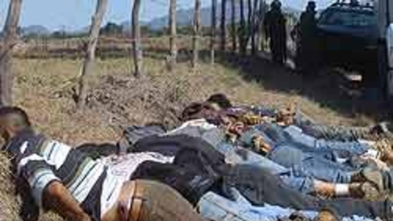 Nueva matanza en una fiesta dejó 8 jóvenes muertos en Sinaloa, México 27...
