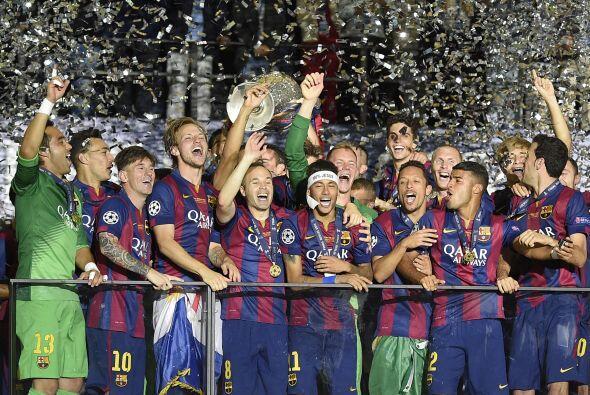 El club catalán derrotó 3-1 a la Juventus en la Final de la Liga de Camp...