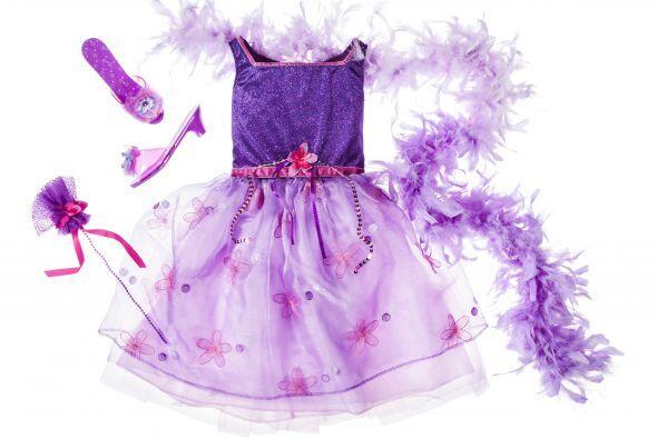 Este 'outfit' de princesa le quedará perfecto a tu pequeña...