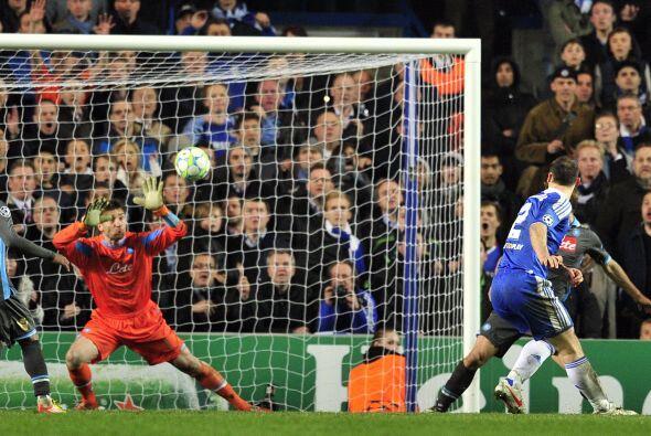 Ivanovic logró, en tiempo de descuento, marcar el gol que le significó e...